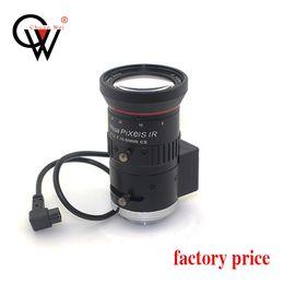 Canada Opti-caméra varifocale CCTV Surbeillance CW Security 5-50mm F1.4 78-9degree 1 / 2.7