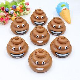 Wholesale Poo Soft Toy - Cute Poo Emoji Squishy 8.5CM Jumbo Soft Slow Rising Squeeze Stress Stretch Phone Straps Bag Key Pendant Kid Toys DIY Decoration