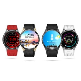 Wholesale Cpu Used - KW88 smart watch Android 5.1 OS MTK6580 CPU 1.39 inch Screen 2.0MP camera 3G WIFI GPS Heart Rate smartwatch for iphone Android smart phone
