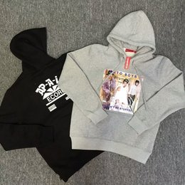 Wholesale Winner Woman - 2018 Wholesale new tide winner embroidery men hoodies high streetwear hip hop brand hoodies for men autumn fashion hoodies men