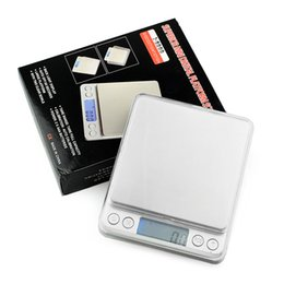 Wholesale Digital Weights - 2000g x 0.1g Digital Pocket Scale 2kg-0.1 2000g 0.1 Jewelry Scales Electronic Kitchen Weight Scale