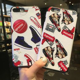 Wholesale Iphone Anime Casing - For iPhone X Phone Case iPhone 6 7 8 Fashion Anime Pattern TPU Wholesale Price Free Shipping
