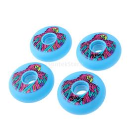 4 pçs / set 72mm Rolo Ao Ar Livre Indoor / Hóquei / Rodas Inline Skate Amarelo / Azul / Rosa supplier drift pink de Fornecedores de deriva rosa