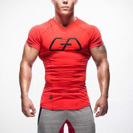 Estiramiento seco rápido t shirts online-Nueva camiseta de los hombres Medias de Fitness de Secado rápido Casual Stretch Top Tee Shirt Fitness Man Plus Size Venta Caliente M-XXL