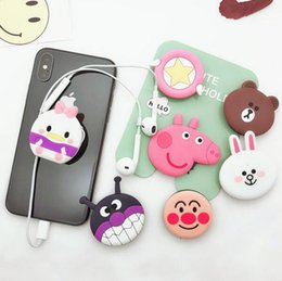 hello rings Coupons - 2018 hot New mobile phone bracket Cute hello kitty Phone Stand Finger Holder For iPhone Sakura luna cat phone ring