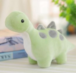 green day dolls Promo Codes - Dinosaur PlushToy 30cm Super Kawaii Green Dinosaur Plush Doll Stuffed Toys plush animals for children wholesale free shipping