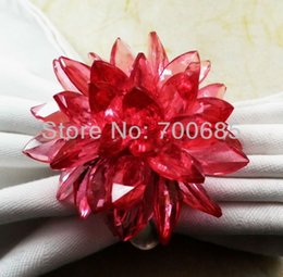 акриловые кольца для салфеток оптом Скидка acrylic beaded wedding napkin ring, napkin holder, wholesale ring, decoration ring