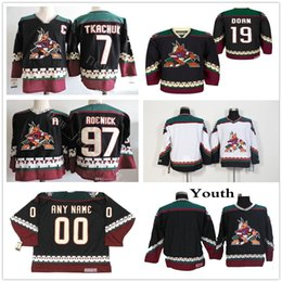 keith tkachuk jersey 2019 - Vintage Arizona Coyotes 97 Jeremy Roenick  Hockey Jerseys Stitched Black 19 2163481c9