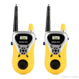 Canada Interphone Électronique Walkie Talkie Enfants Enfant Mini Jouets Radio Portable Bi-Direction Jaune cheap electronics children Offre
