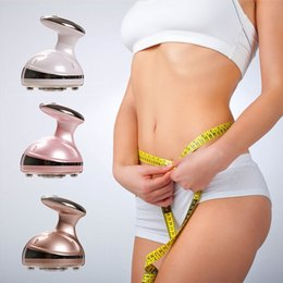 Wholesale Fat Burning Device - High-quality household hand-held RF slimming ultrasonic liposuction cavitation slimming machine fat reduction fat removal device free shippi