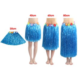 980c79963 Grass Skirt Wholesale 30-80cm Children's Adult Hawaiian Grass Skirt Costume  Costumes Play Clothes Toy Flexible Package Mail