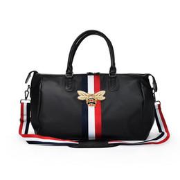 Fashion Brand Travel Bags WaterProof Large Capacity hand Luggage Traveling  bee Bag Women weekend Travel duffle Bag Handbags 1556431aed1b7