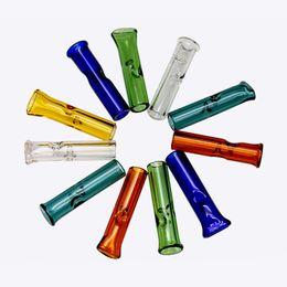 Vente chaude Épaisse Cigarette Filtre Tube 1,4 pouce en verre filtre conseils De Haute Qualité papier rouleau RAW Un Hitter Pipe fumer accessoires ? partir de fabricateur