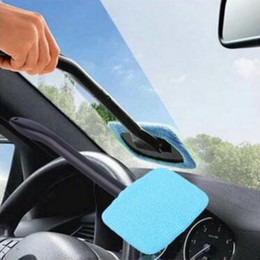 Wholesale Vehicle Cleaning Brushes - Microfiber Windshield Cleaner Car Window Brush Auto Vehicle Long Handle Glass Wiper Cleaning Towel Brush Windshield Shine Care CCA9162 50pcs