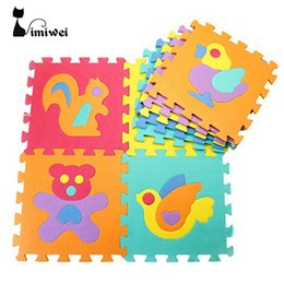 Wholesale Baby Safety Foam - Wholesale-Kids Toys Baby Play Mats Educational Puzzle Play+Learning+Safety Mats Baby Toys Kids Rug Mat for Children Carpet Developing Rugs