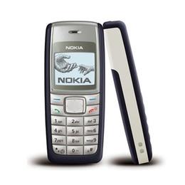 Wholesale Camera Language - Original Refurbished Nokia 1112 Cheap Unlocked Phone Universal GSM Multi Language Cellphone English Russian Arabic Keyboard Wholesale