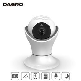 Caméra à distance ptz en Ligne-DAGRO 360 Rotation PTZ Surveillance à distance sans fil WiFi Surveillance à distance intelligente Caméra vidéo de surveillance HD