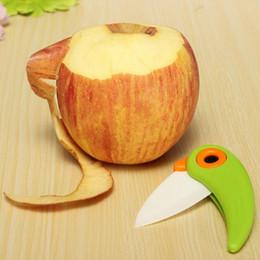 coltello ad anello di difesa Sconti Nuovi Coltelli da cucina in ceramica mini coltelli da regalo Coltello da tasca in ceramica coltelli pieghevoli da cucina Coltello da frutta con manico in ABS colorato Jw20