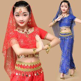 2019 kinder bollywood kostüme bollywood orientalische Tanzkostüme Kleid für Kinder Mädchen Kinder kleidet Indien Bauchtanz Kleidung belly Kind rabatt kinder bollywood kostüme