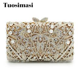 2017 Luxury Gold Diamond Evening Bag Rhinestone Clutch Bag Women Small  Banquet Hand Wedding Bride Clutch Purse(88199A-PG) c55523ac47db
