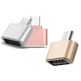 Mini micro usb à l'alliage d'aluminium de convertisseur d'adaptateur d'USB 2.0 OTG pour des téléphones androïdes comprimés de Samsung Huawei ? partir de fabricateur