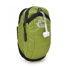 Telefonarmgürtel online-Freie Ritter Outdoor Running Bag Arm Gürteltasche Sport Gym Trail Run Taschen Zubehör Telefon Taschen Packs Für Fitness Wasserdicht