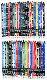 Mobile kostenlose geschenke online-Freies Verschiffen Rugby AFC NFC Schlüsselband ID Badge Holder Protector Handy Iphone VIP Pass Riemen Geschenke für Büropersonal