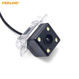 câmera de carro camry Desconto FEELDO Car CMOS Câmera de Visão Traseira Para Toyota Camry 2006-2008 Carro Invertendo Câmera de Estacionamento # 4201