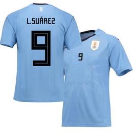 34d36c881 Uruguay Jersey Diego Godin Edinson Cavani Uruguay 2018 Home Soccer Jersey  Blue Away uruguay jersey on sale
