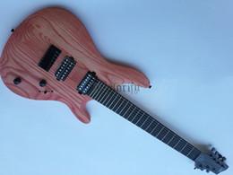 12 string solid body e-gitarre Rabatt E-Gitarre aus massivem Eschenholz mit 7 Saiten