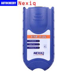 Wholesale Nexiq Scanner - DHL Free shipping NEXIQ 125032 USB Link Heavy Duty Truck scanner Diesel Truck Interface