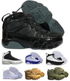 Wholesale Womens Skies - Cheap 9 Basketball Shoes Mens Womens White 9s VIIII Bred Space Jam Olive City Of Flight GS Countdown Pinnacle Pack Outdoor Shoe Sneakers