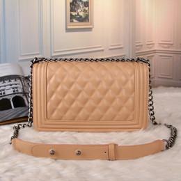 Borse popolari online-Borsa a tracolla singola moda Borsa messenger popolare europea e americana Borsa da donna di alta qualità con catena a forma di diamante