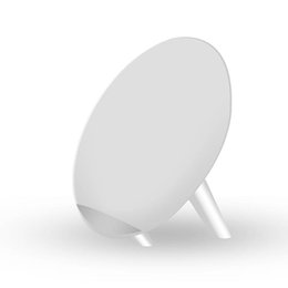 Wholesale Ten Phones - 5W Qi Wireless Charger Round Charging Pad for iPhone Ten 8 Plus Samsung S8 No-wire Charger Phone Holder