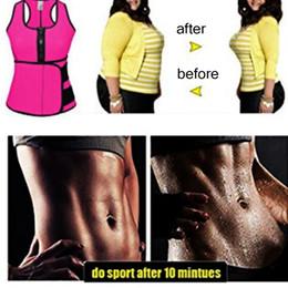 Da cintura para Cincher Shaper Sweat Vest instrutor Tummy Cinturão de Controle do espartilho Shaper corpo para mulheres Plus Size S M L XL XXL 3XL 4XL de