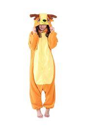 Wholesale One Piece Costume Adult - Unisex Adult Deer Cosplay Costume One Piece Pajamas Animal Onesies