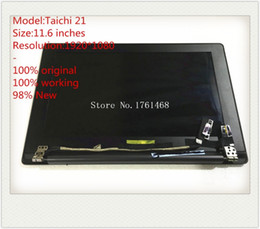 Wholesale asus led screen - For Asus TAICHI 21 Touch LCD screen Taichi21 LED assembly 11.6 inches 1920*1080 100% tested Free shipping
