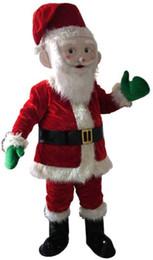 2019 mascote trajes santa claus Traje de mascote de Papai Noel traje de mascote de Natal frete grátis desconto mascote trajes santa claus