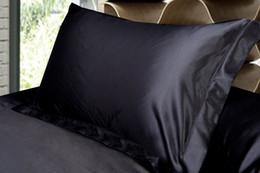 Fundas de almohada de leopardo online-Ropa de cama (2 piezas / lote) Funda de almohada Funda de almohada de algodón de seda estándar blanco Funda de almohada decorativa de leopardo negro blanco