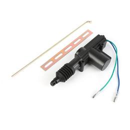Wholesale door wire lock - DC 12V 2 Wire car locking Central Wire Door Motor Pop Slave Tools System Alarm Car motor Door Locking FFA213