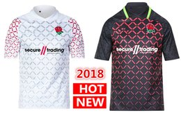 Wholesale Rugby Team Jerseys - DHL free shipping 2018 2019 England Rugby Jerseys National Team 18 19 England Rugby Shirt NRL National Rugby League Shirts s-3xl