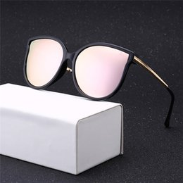 Wholesale Sunglasses Luxury Original Box - 2018 New Style vintage sunglasses women brand designer luxury sunglass famous brand womens sunglasses ladies sun glasses with Original Box