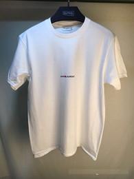 Concert t shirts xl en Ligne-T-shirt à motif de fan de Paris Justin Bieber Crâne 100% coton T-shirts T-shirt de marque Streetwear Punk Rock Star Ghost Tee
