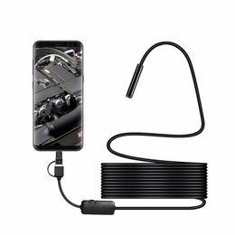 Canada Livraison gratuite 8MM Micro USB Type-c USB 3 en 1 Ordinateur Endoscope Tube Endoscope Tube Étanche USB Inspection 1200P Caméra Vidéo pour Android Offre