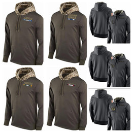 Wholesale Packers Green - Packer Men's Women Youth ETROIT LION Greens Bays # Houston # Texan # Indianapolis Colt alute to Service Sideline Therma Pullover Hoodie
