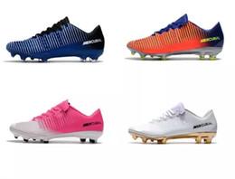 NUEVOS zapatos de fútbol ACC CR7 Mercurial Vapor XI FG Top zapatos de fútbol  Botas de fútbol Mercurial Low Zapatos Neymar de alta calidad Superfly 406f0d94ede98