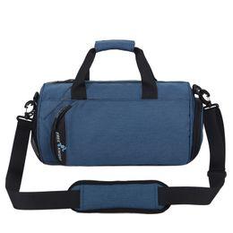 Waterproof Men Sports Gym Bags New Leisure Yoga Fitness Bag Women Travel  Handbag Training Separate Shoes athletic 35 50 60cm QL 02a5d0d70e60a