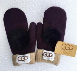 Gants femme en laine de haute qualité créateur de mode européen, gant chaud, entraînement sportif, gants de marque Mitten 8 couleurs ? partir de fabricateur