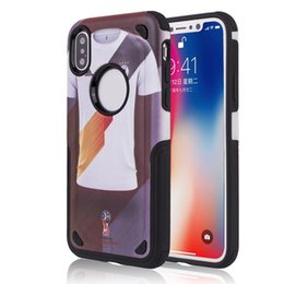 Wholesale Football Cases - Football Player Hyrbrid Armor Case for iPhone X 8 7 6S 6 Samsung S9 Plus J7 S8 Plus NOTE 8 MetroPCS OPP