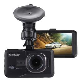 2019 angle de vue lcd Voiture DVR Caméra 3.0 pouce LCD HD 720P 3.0MP Enregistreur Vidéo Caméra 170 Degrés Grand Angle Regarde le tableau de bord angle de vue lcd pas cher